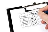 Evaluation form poster
