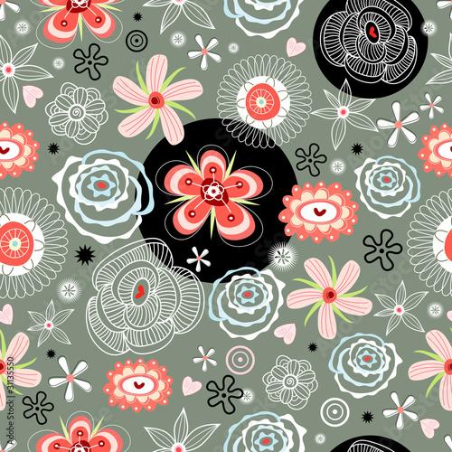 floral decorative pattern