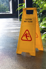 Caution Wet Floor