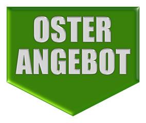 Button grün Pfeil unten OSTER ANGEBOT