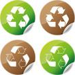 Grüner Punkt Recycle set 1