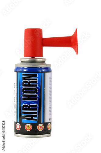 Isolated air horn
