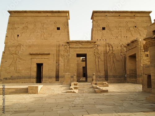 Second Pylon of Temple of Isis in Philae