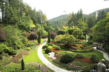 Gardens Victoria Vancouver Island Canada