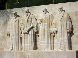 Wall of reformers, Geneva, Switzerland