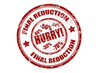 Final reduction stamp