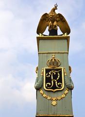 German Eagle statue in Ludwigshafen Castle