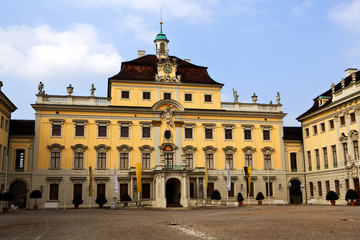 Ludwigshafen castle courtyard