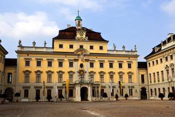 Ludwigshafen castle courtyard