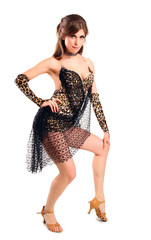Танцоры латинских танцев