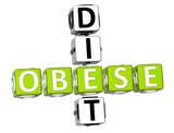 Obese Diet Crossword poster