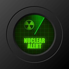 balkenanzeige radar nuclear alert I