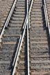Kreuzung von Eisenbahnschienen