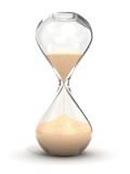 hourglass, sandglass, sand timer, sand clock isolated