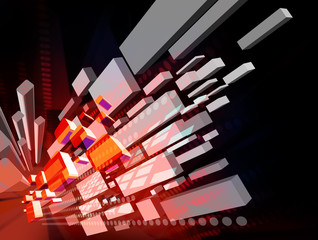 3d virtual background