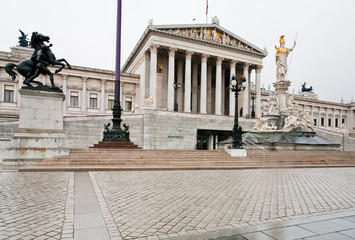 Building of Parliament, Vienna, Austria