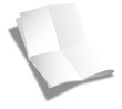 Folded sheet of paper