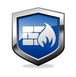 Firewall Shield icon poster