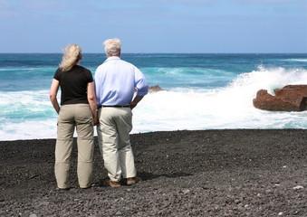Senioren am Meer