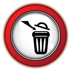 IN TRASH ICON