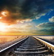 railway to horizon