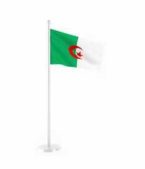 3D flag of Algeria
