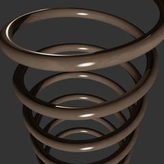 Molla elicoidale di bronzo - Bronze helical spring