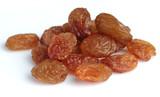 Fototapety Raisins on a white background