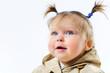 Closeup portrait Baby Girl