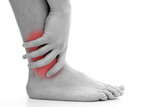 Ankle pain poster