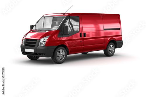 Fototapeten,transporters,rot,transport,verkehr