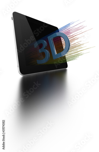 Table PC with 3D Screen