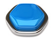 Blue blank button