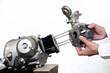バイクエンジンの分解