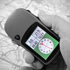 prendre le cap avec GPS
