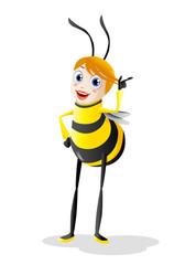 cute honey bee