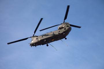 Chinook over Anglesey