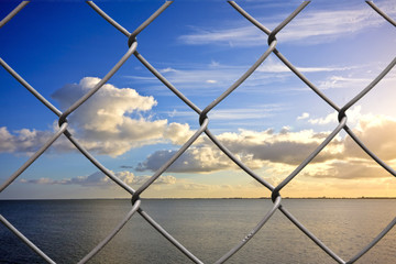 Beautiful world behind bars