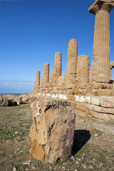 Landscape with Temple of Hera, Valley of Temples, Agrigento