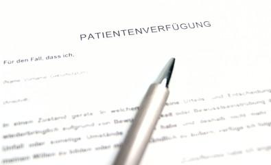 Patientenverfügung