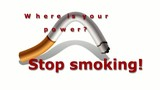 Stop smoking - Animation