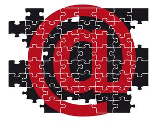 At-Symbol - Puzzle