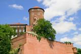 Wawel Medieval Castle Fortification poster