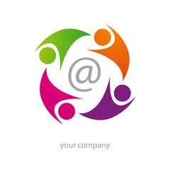 logo entreprise, internet, informatique