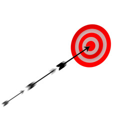 Moving arrow to target