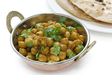 chana masala , chickpea curry ,  indian dish