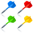 Color darts. - 31204971