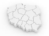 Fototapete Karte - Profilstahl - 3D-Bilder
