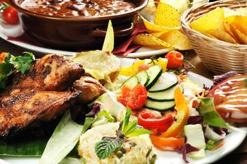 pollo arrosto alla messicana