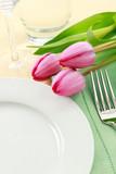 Fototapety Spring Table Setting